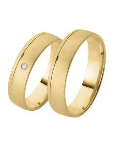 Trauringe aus Gelbgold schlichte Ringe