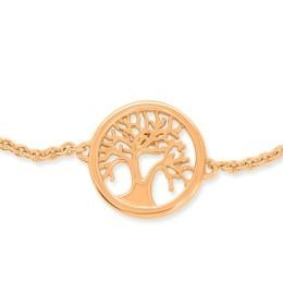 Tree of Life Armband rosé vergoldet