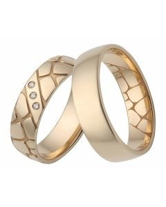 Gelbgold Ringe
