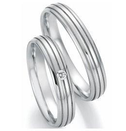 Trauringe Edelstahl Diamanten Verlobungsringe klassisch