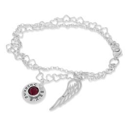 Armband Gravur Name 925 Sterling Silber Geschenk Taufe Geburt