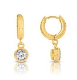 elegante Ohrringe, Damenschmuck vergoldet