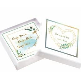 Geschenkverpackung Weihnacht Liebe personalisiert Wunschtext