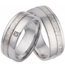 Trauringe Edelstahl Silberband Eheringe