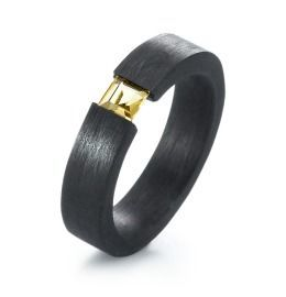 Carbon Citrin Ring
