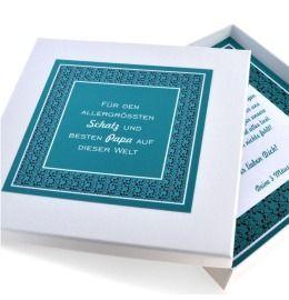 personalisierte Geschenk Schmuck Schachtel für Ketten Armband Anhänger