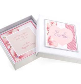 Geschenkschachtel personalisiert Schmuck Box