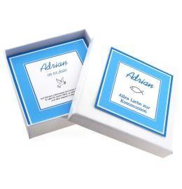 personalisierte Geschenkschachtel mit Wunschtext Schmuckschachtel