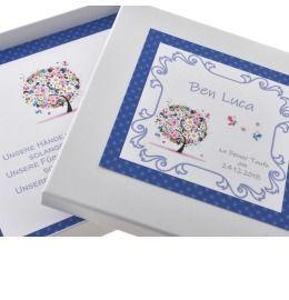 Geschenkverpackung für Schmuck, Schmuckschachtel mit Wunschtext