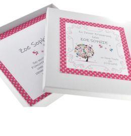 personalisierte Geschenkschachtel, Geschenkverpackung für Schmuck