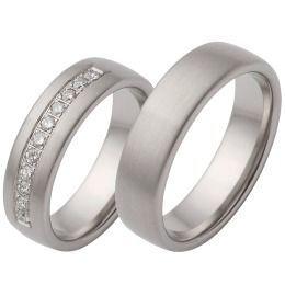 Trauringe 925/-Silber Verlobung Brillanten