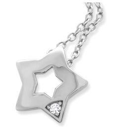 Kette mit Stern Anhänger 925 Sterling Silber