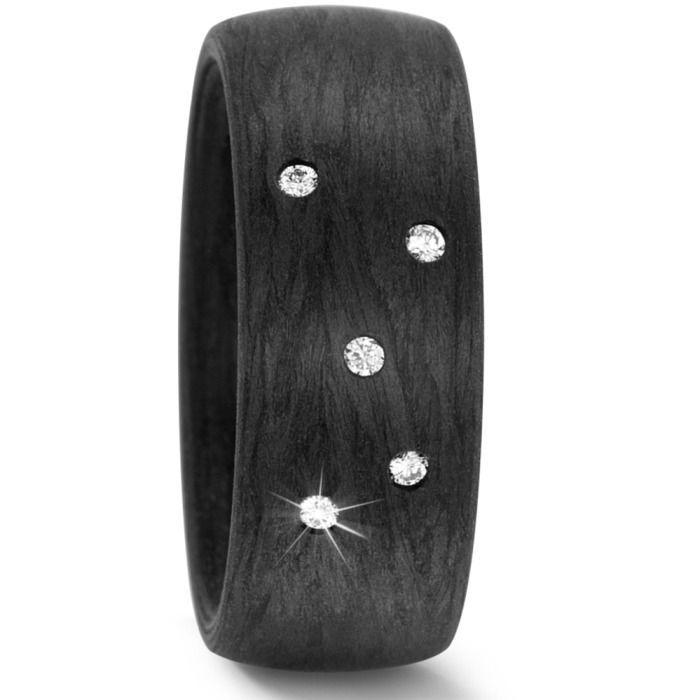 Moderne Ringe Aus Carbon Zur Hochzeit Joolyn
