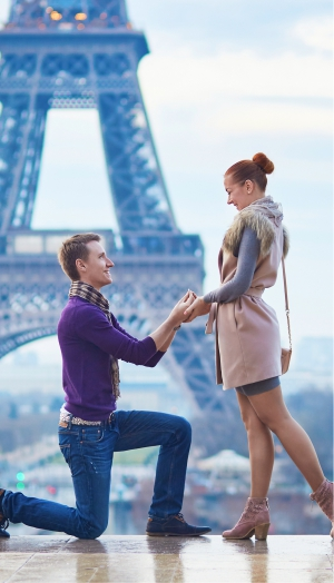 Verlobungsringe die mitten ins Herz treffen